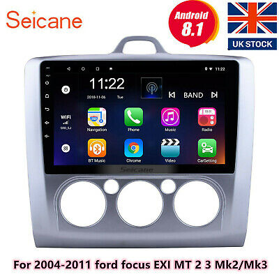 Android8.1 For 2004-2011 Ford Focus EXI MT2/3 Mk2/Mk3 Touchscreen Radio GPS Navi • 133.69£