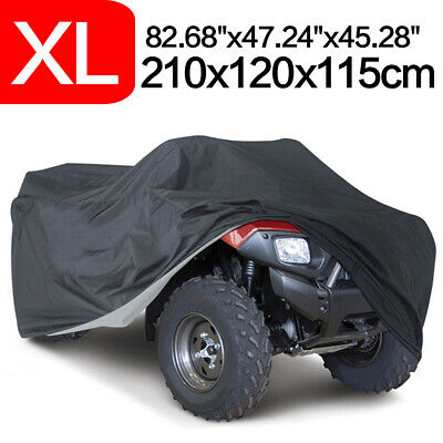 XXL Waterproof Full ATV Quad Bike Cover Dust Rain Sun Outdoor Storage Protection • 14.99£