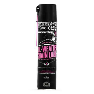 Muc-Off All Weather Motorcycle Chain Lube Endurance Motorbike Scooter Lubricant • 10.69£