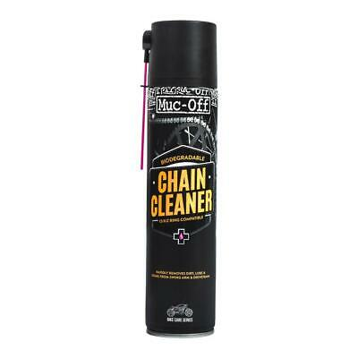 Muc-Off Motorcycle Chain Cleaner Motorbike Scooter Biodegradable 400ml M650 • 8.49£