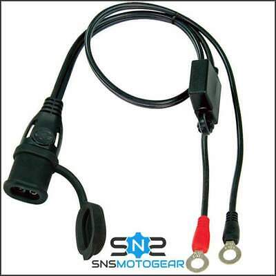 Genuine Optimate 2/3/4/5/6 Charger Weatherproof Fused SAE Connector Eyelet Lead • 8.95£