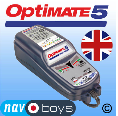 Optimate 5 12v 4A Battery Charger + Conditioner - UK • 73.95£