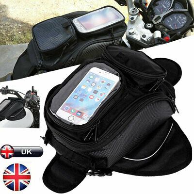 Waterproof Motorcycle Magnetic Oil Fuel Tank Bag Motorbike Luggage Saddle Bag G • 14.35£