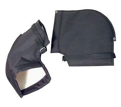 Mobility Scooter Handlebar Muffs Winter Protection Hand Warmers Fleece Lined • 9.99£