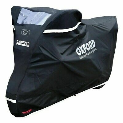 Oxford CV333 Stormex Outdoor Motorcycle Cover(XL)Heavy Duty Motorbike Rain Cover • 57.69£