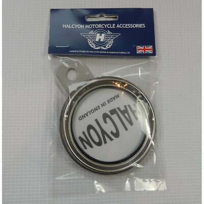 Genuine Halcyon Tax Disc Holder Silver / Grey Made In England • 9.95£
