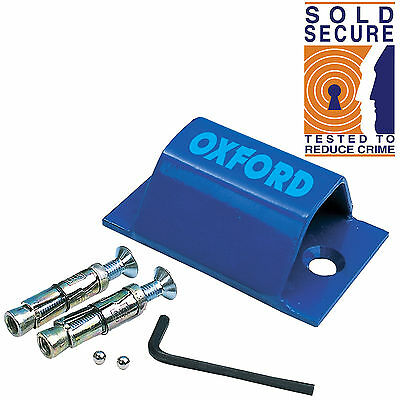 Oxford BRUTE FORCE Wall Anchor Ground Anchor Motorbike Motorcycle SOLD SECURE • 20.95£