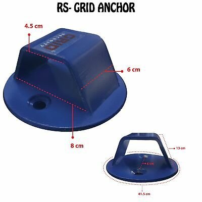 Grid Ground Anchor Motorbike Scooter Quad Motocross Bike Security New • 11.99£