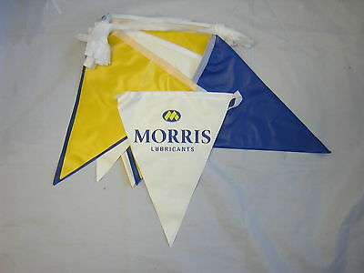 Morris Lubricants Bunting. Ideal For Shows/Race Meetings.New  • 25£