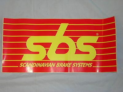 SBS Stickers/Decal. X 1. New. Size 42.5cm X 20.5cm.  • 7.99£