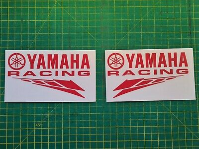 Yamaha Racing Decal X 2 Other Colours Available • 4£