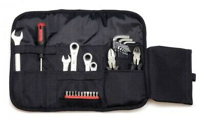 New Motorcycle Tool Roll Bag Enduro Trials Kit Honda Kawasaki Suzuki Yamaha Seat • 16.95£