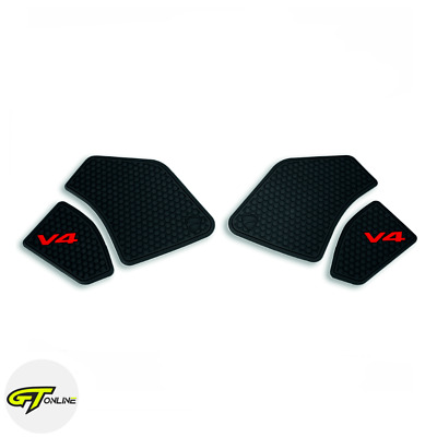 Genuine Ducati Fuel Tank Grip Pads, Knee Traction V4 Panigale V4S Streetfighter • 65.94£