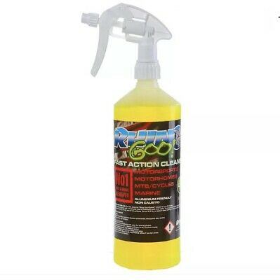 Rhino Goo Fast Action Motocross Bike/Motorcycle/MTB Cleaner 1 Litre Squirty • 9.49£