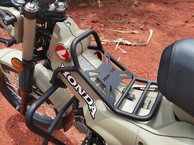 Steel Center Rack Carrier Luggage For Honda CT125 Trail 125 Hunter Cub 2020-2021 • 89.57£