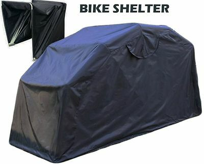 Large Motorbike Bike Shelter Cover Outdoor Shed Garage Moped Motorcycle Storage • 129.95£