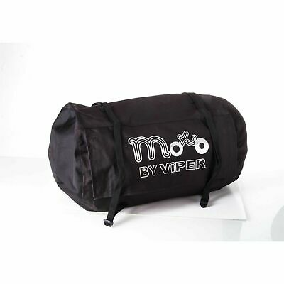 Moto Commuter Motorcycle Motorbike Luggage Textile Roll Bag 50L Black  • 14.99£
