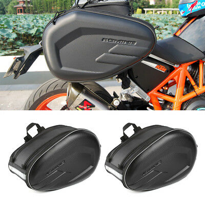 UK Universal Motorcycle Pannier Side Bags Luggage Saddle Bags Rain Cover 36-58L • 21.99£