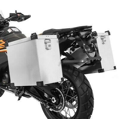 Alu Side Cases 35l-40l With Kit For Benelli BN 302/ R/ 600/ GT, TRK 502/ X • 177.81£