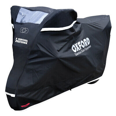 Oxford Stormex Waterproof Motorcycle Motorbike Scooter Cover All Weather XL • 67.99£