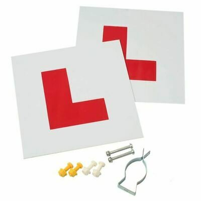 Gear Gremlin Motorcycle/scooter L Plate Kit • 10£