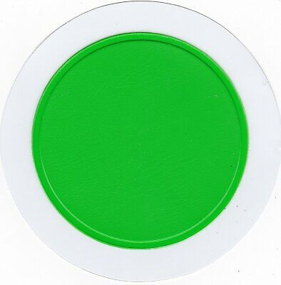 STYLARIZE® 100x Tax Disc Holder Parking Permit Holder For Car Van (Apple Green) • 67.50£