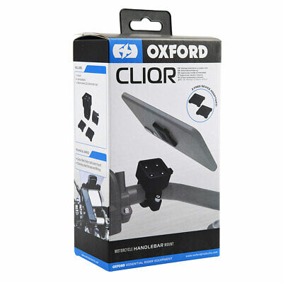 Oxford CLIQR Motorcycle Handlebar Clamp - 22.1 Mm • 29.99£