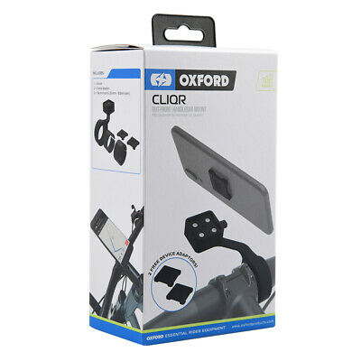 Oxford CLIQR Out Front Cycle Bike Universal Phone Sat Nav Handle Bar Mount OX841 • 27.49£