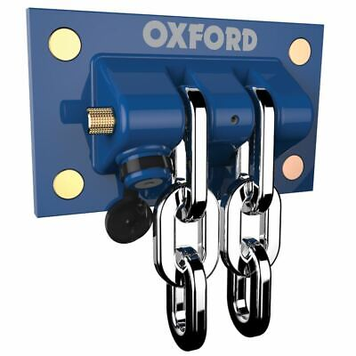 Oxford Motorcycle Security Heavy Duty Docking Station Thatcham Approved OF437 • 74.99£