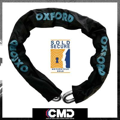 Oxford Nemesis Motorcycle Pushbike Security Chain 1.5m X 16mm Gold Sold Secure • 72.99£