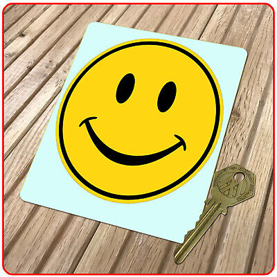 Smiley Face 2 Classic Car Hippy Sticker Decal 1960's - 70's  • 1.99£