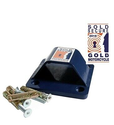 Squire Everest Bolt In Ground / Wall Anchor Motorcycle Security SOLD SECURE GOLD • 20£