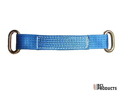 14  Recovery Wheel Strap With Ring Each End - Polyester Wheel Strap - Webbing • 7.50£