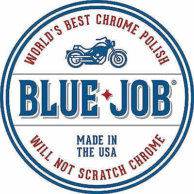 Blue Job Chrome & Stainless Steel Motorcycle Polish Removes Exhaust Blues 28g • 16.99£
