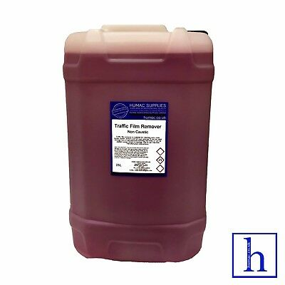 TFR Traffic Film Remover Non Caustic 25 Litre Drum Shampoo Car Vehicle 25L HUMAC • 24£