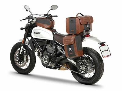 Ducati Scrambler Pannier Fitting Kit (Cafe Racer Style) Full Luggage Set 2015 On • 369.95£