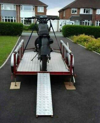 Motorcycle Motorbike Trailer For Hire / Rent Leicester  • 40£
