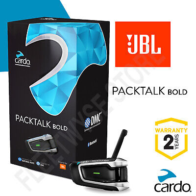 Cardo Scala Rider PACKTALK BOLD JBL Speakers 2020 UK STOCK!! BTSRPTBJ • 219.95£