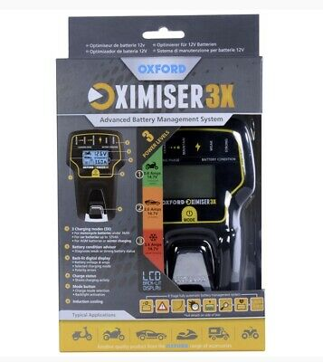 NEW OXFORD Oximiser 3X Advanced Battery Management System Charger EL200 • 54.44£