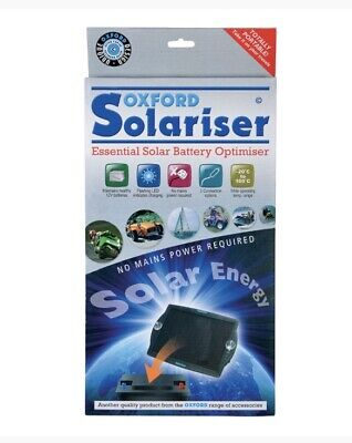 NEW Oxford Solariser Solar Battery Charger Optimiser No Mains Power OF949 • 26.98£