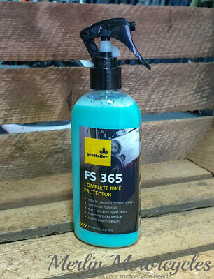 Scottoiler Fs365 Motorcycle Corrosion Protection 250ml Compact Spray So-0038 • 9.99£