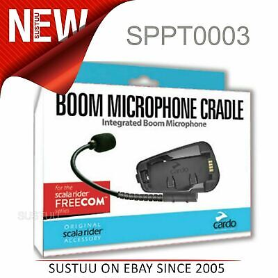 Cardo Scala Rider Microphone/ Mic Kit|Freecom 1 2 3 4 Motorcycle Helmet Intercom • 34.74£