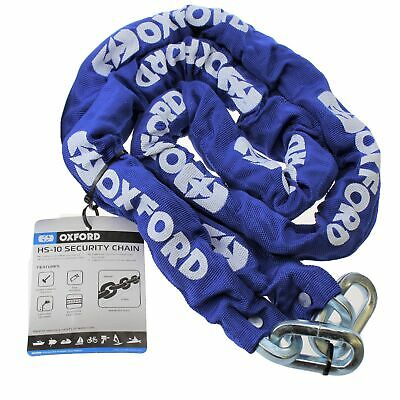OXFORD MARINE Motorbike Security Chain Motorcycle Quad Scooter HS-10 Chain 2m • 23.99£