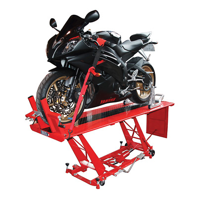 BikeTek Hydraulic Motor Bike Motorcycle Workshop Repair Table Lift Stand • 599.99£