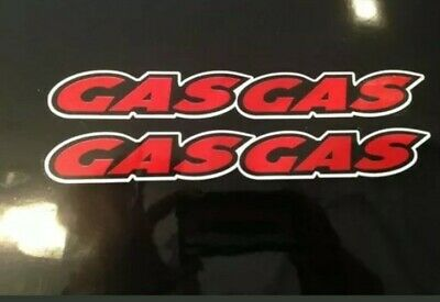 GAS GAS Stickers/decals , Trial Bike, Motorbike Decals, Stickers X 2 In Set • 3.99£