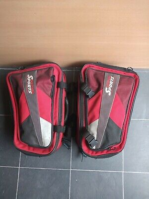 Oxford Lifetime Sports Motorcycle Panniers • 27£