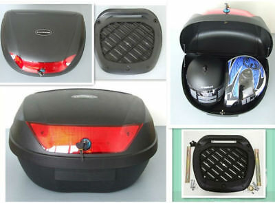 Two Helmet Universal TopBox-0888.Black.Quick Release-twin Helmet Box-56L • 25.95£
