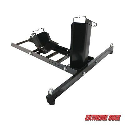 Extreme Max 5001.5757 Adjustable Motorcycle Stand / Wheel Chock - 1,800 Lbs. • 66.69£