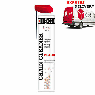 Chain Cleaner Ipone Careline Motorcycle Drive O X Ring Spray Aerosol 750ml • 14.99£