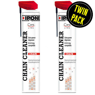 Motorcycle Drive O / X Ring Chain Cleaner Spray Ipone Careline 2 X 750ml Pack • 28.99£